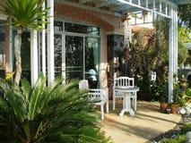 Idées de décoration de jardin Photo stock