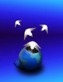 Idées de naissance de la terre Photographie stock