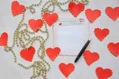 Idées de nuit de date du jour de valentines images stock