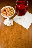 Idées de serviette de cocktail Image libre de droits