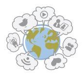 Idées de technologie Photographie stock libre de droits