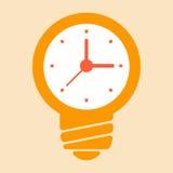 Idées de temps illustration de vecteur