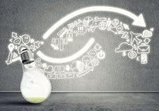 Idées efficaces de vente photos libres de droits