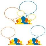 Idées et collaboration Images libres de droits