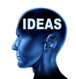 Idées et créativité illustration libre de droits