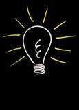 Idées lumineuses Photo libre de droits