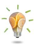 Idées saines de nourriture Photo libre de droits