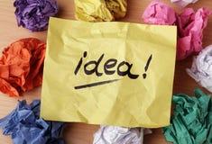 Idéia Fotos de Stock