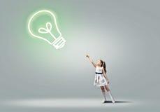 Idéia brilhante Foto de Stock