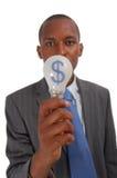 Idéia do dinheiro ($) imagem de stock royalty free