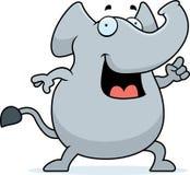 Idéia do elefante Foto de Stock Royalty Free