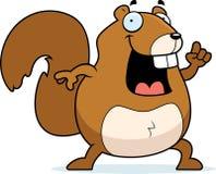 Idéia do esquilo Fotos de Stock Royalty Free