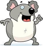 Idéia do Koala ilustração stock