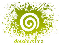 Idéia do logotipo de Dreamstime Imagens de Stock Royalty Free