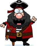 Idéia do pirata Fotos de Stock Royalty Free