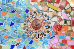 Idéia moderna do mosaico imagem de stock