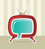 Idéia social da idéia da tevê do Web dos media ilustração royalty free