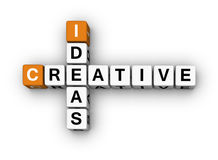 Idéias creativas Fotografia de Stock Royalty Free