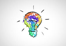 Idéias creativas Fotos de Stock