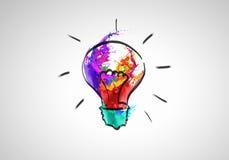 Idéias creativas Imagens de Stock Royalty Free