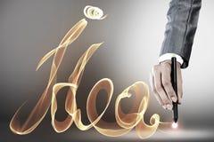 Idéias creativas Foto de Stock Royalty Free