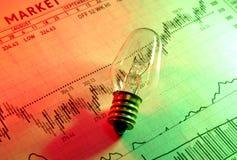 Idéias do investimento imagens de stock