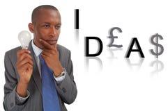 Idéias e dinheiro Imagens de Stock Royalty Free