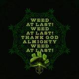 idén för tolkningen 3D av offentlig fröjd som Sydafrika legaliserar privat bruk av cannabis stock illustrationer
