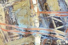 Idérik abstrakt hand målad bakgrund, tapet, textur Backgrounde för abstrakt konst royaltyfria foton