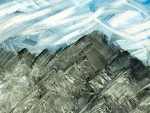 Idérik abstrakt hand målad bakgrund, tapet, textur, c stock illustrationer