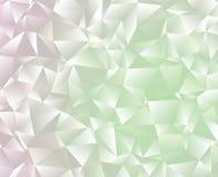 Idérik abstrakt polygonillustration Vektorn fäster ihop konst Detta är sparar av EPS8 formaterar Royaltyfri Bild