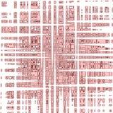 Idérik abstrakt rosa blek textur med remsor Arkivbilder