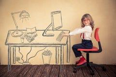 Idérik arbetsplats arkivfoto