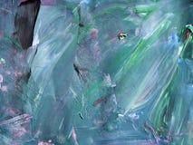 idérik bakgrund Härlig målning abstrakt textur Aquar stock illustrationer