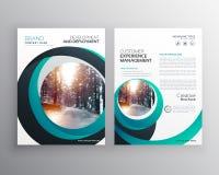 idérik cicular tem för design för affisch för broschyr för formaffärsreklamblad Arkivfoton