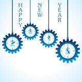 Idérik design för lyckligt nytt år 2015 Royaltyfri Fotografi