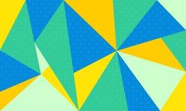 Idérik färgrik abstrakt bakgrund - vektor stock illustrationer