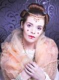 Idérik flicka. Royaltyfria Bilder