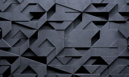Idérik futuristisk mörk bakgrund stock illustrationer