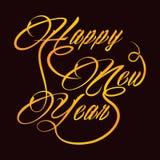 Idérik hälsning för nytt år Royaltyfri Fotografi