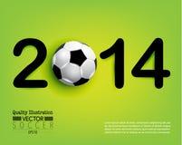 Idérik illustration för vektor för fotbollfotbollsport Arkivbild