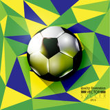 Idérik illustration för vektor för fotbollfotbollsport Royaltyfri Fotografi