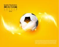 Idérik illustration för vektor för fotbollfotbollsport Royaltyfri Foto