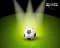 Idérik illustration för vektor för fotbollfotbollsport Arkivbilder