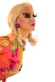 idérik makeup Royaltyfria Foton