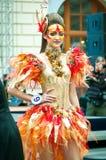 idérik makeupmodell för mästerskap Royaltyfria Foton