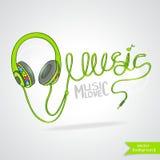 Idérik musik Arkivbild