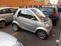 Idérik parkering Arkivfoton