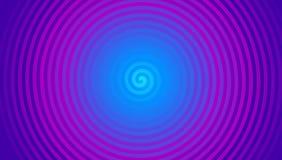 Idérik purpurfärgad spiral vektor för bakgrundsabstrakt begrepplutning royaltyfri illustrationer