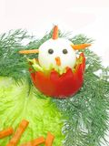 idérik salladgrönsak Arkivbild